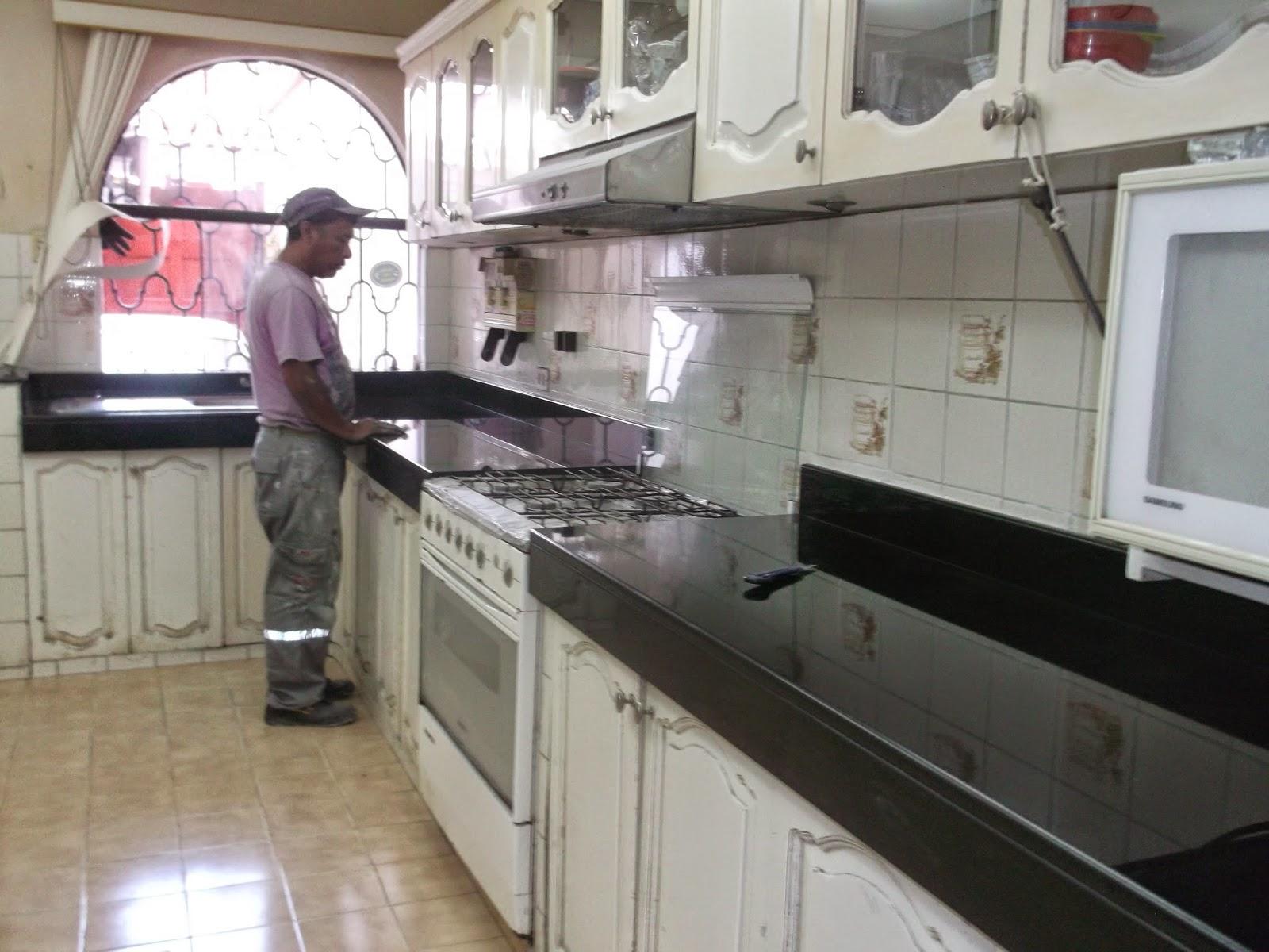 marmol de cocina