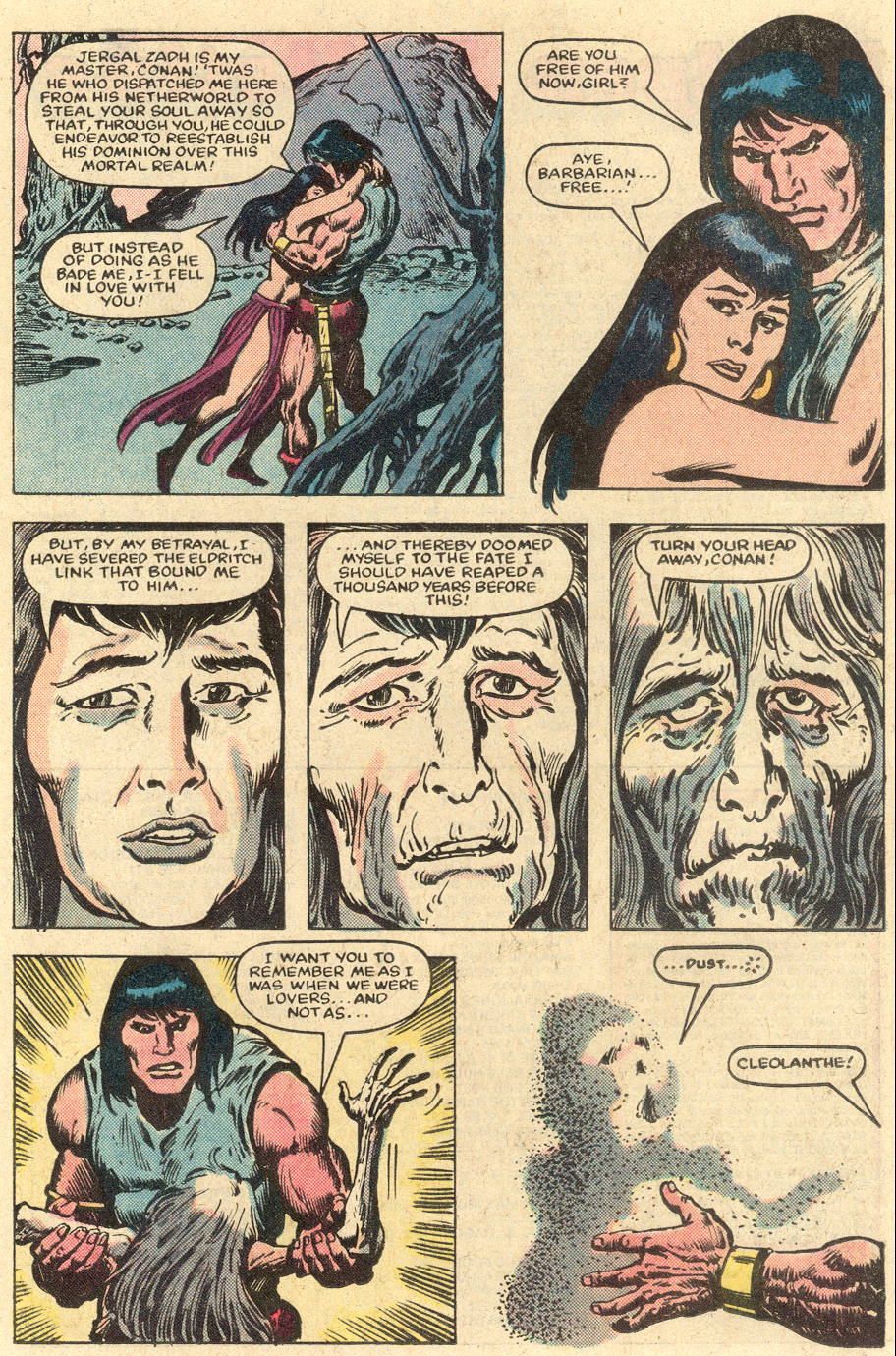 Conan the Barbarian (1970) Issue #152 #164 - English 22