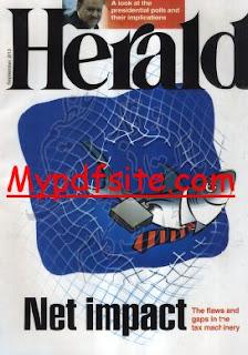 Herald Magazine September 2013