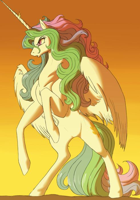 Warrior Princess Celestia
