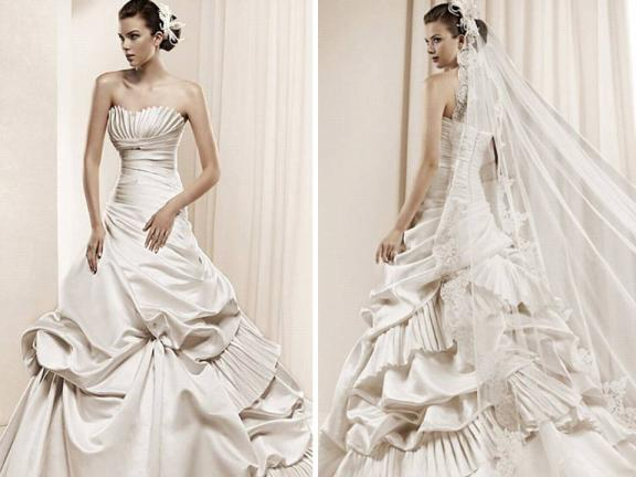 Going for signature or branded wedding gown isn't always necessary because