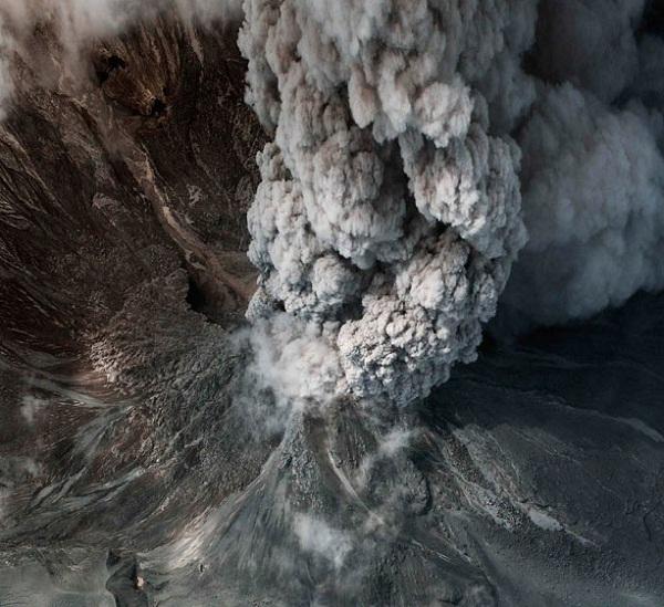 Gunung berapi Merapi, Indonesia