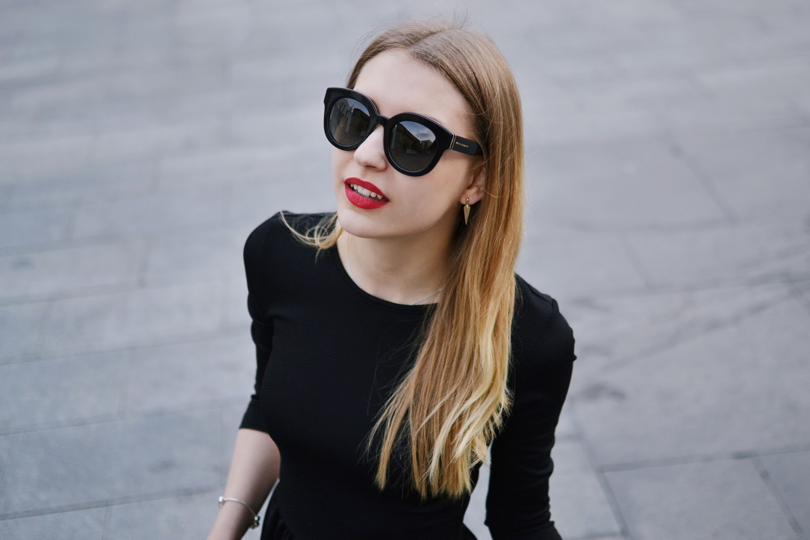 Dolce and Gabbana oversized polarised sunglasses