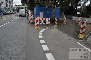 Schanzenstraße / Sportplatz - Baustelle