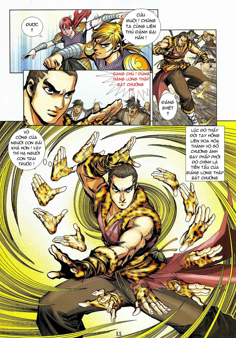 Thần Chưởng Long Cửu Châu chap 8 - Trang 11