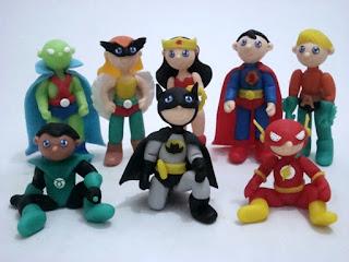 Super Herois de biscuit
