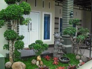 Gambar Desain Taman Rumah Sederhana Minimalis