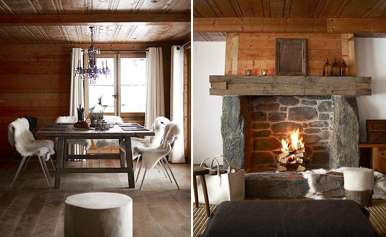 Una casa de alta monta a chalet mountain - Casas en los alpes suizos ...
