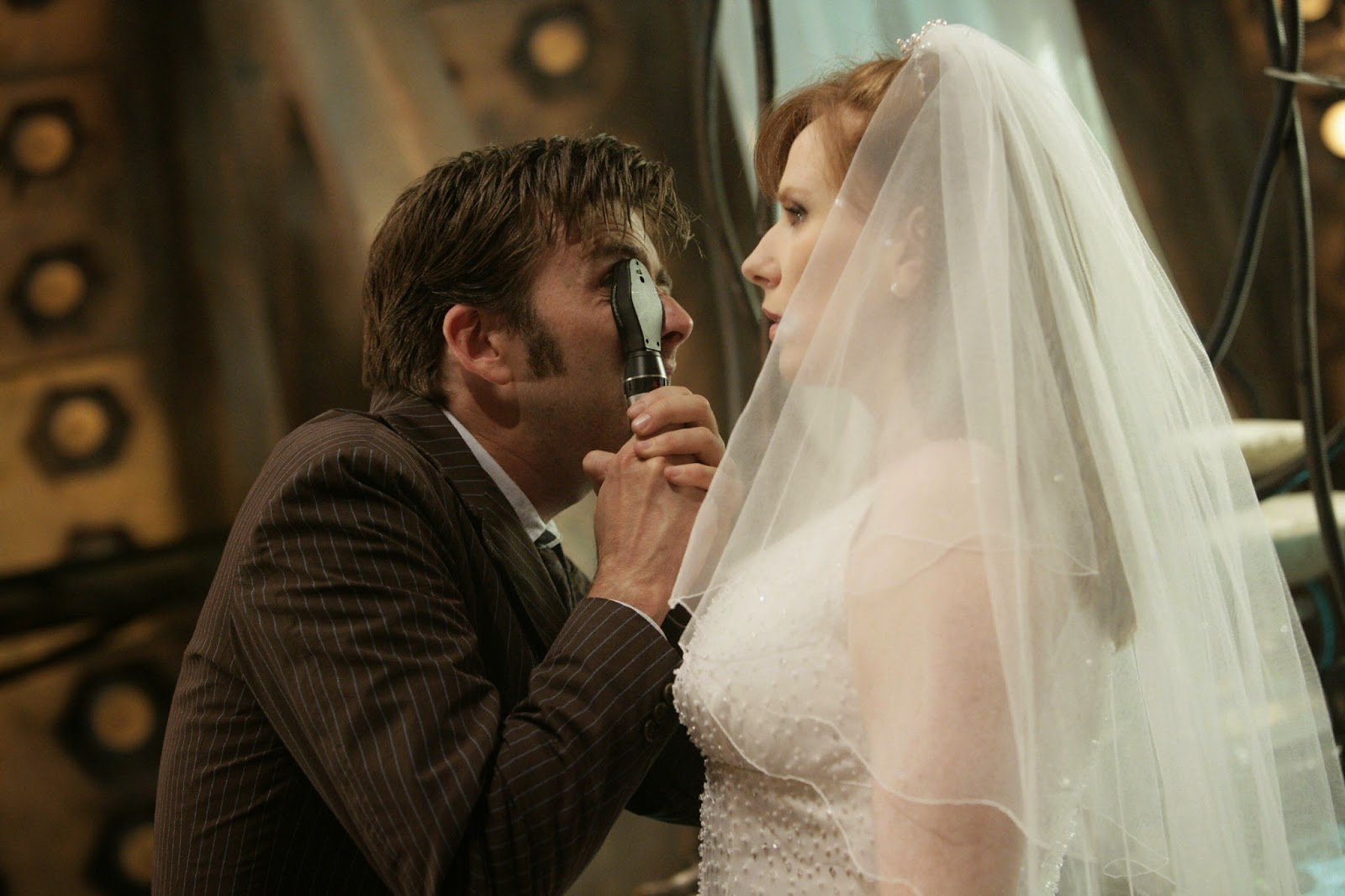 Viewers Saw Donna Noble Declining The Doctors Invitation To Travel With Him However Catherine Tate Returned As Join David Tennant A