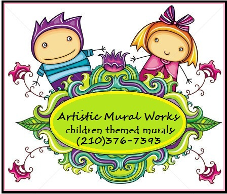 Artistic mural works children and babys mural painting for Thank you mural