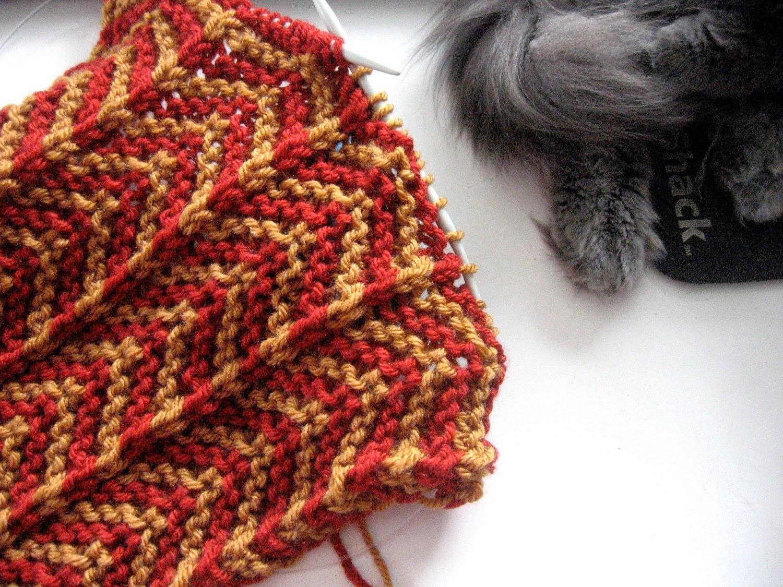 Knits By Nat: Afghan Stitch Knitting