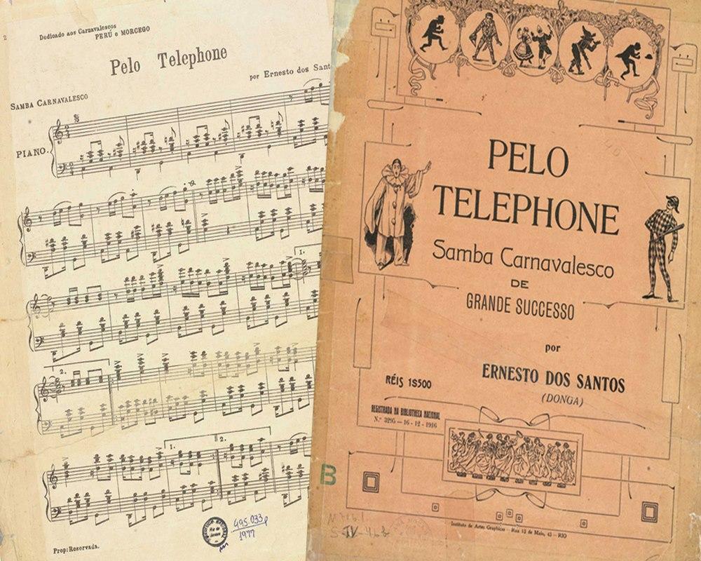 Pelo Telefone - Primeiro Samba Brasil - Single de Baiano