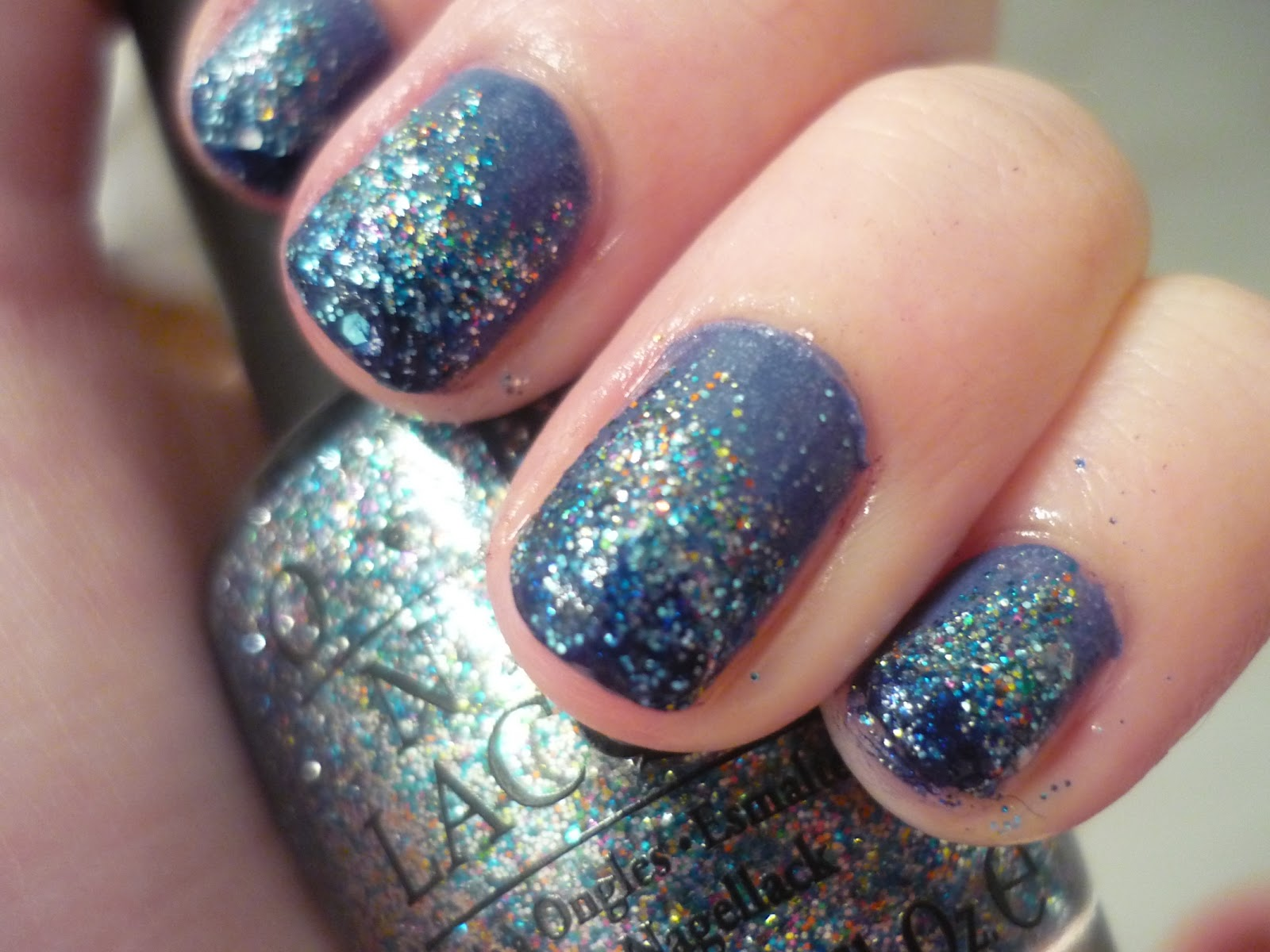 Models Lawas How To Ombre Glitter Nail Art Ideas