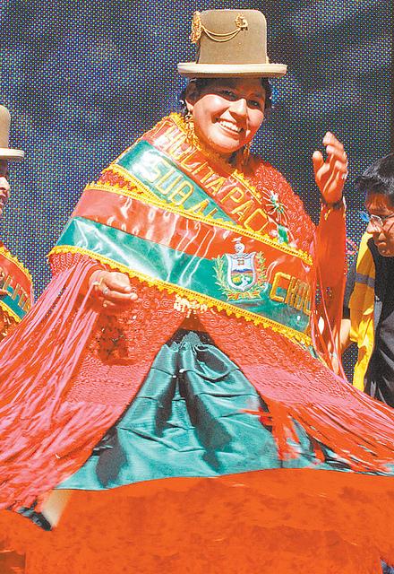 Cholita con Ñeq'e 2011 recuerda que le dijeron maldita aymara