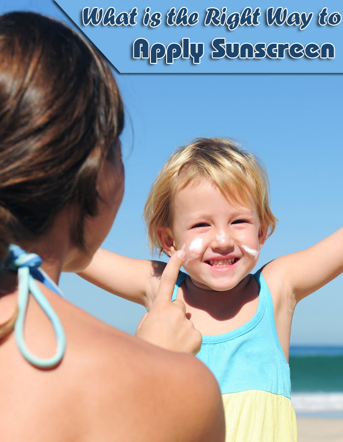 What is the Right Way to Apply Sunscreen