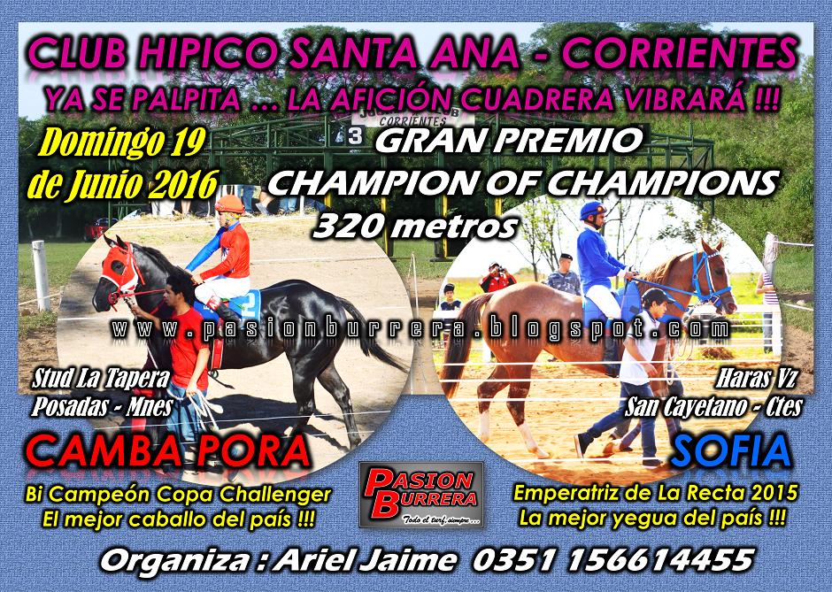 SANTA ANA - 19 JUNIO - GRAN PREMIO