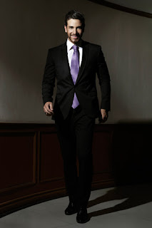 Mr. International 2012 Ali Hammoud of Lebanon (formal wear)