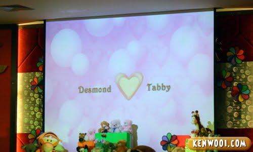 desmond love tabby