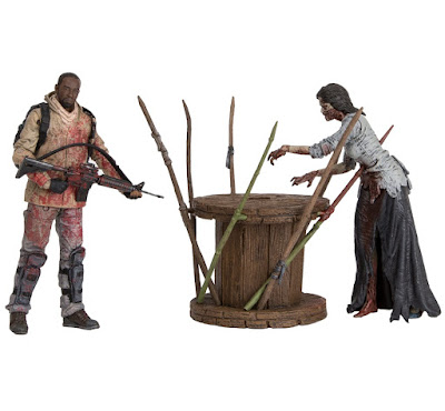 The Walking Dead Morgan & Impaled Walker Action Figure Box Set by McFarlane Toys