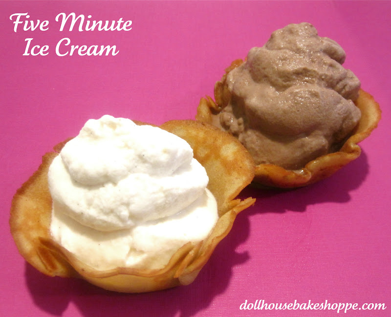 Lindsay Ann Bakes: 5-Minute Soft Serve Ice Cream... In A Bag!
