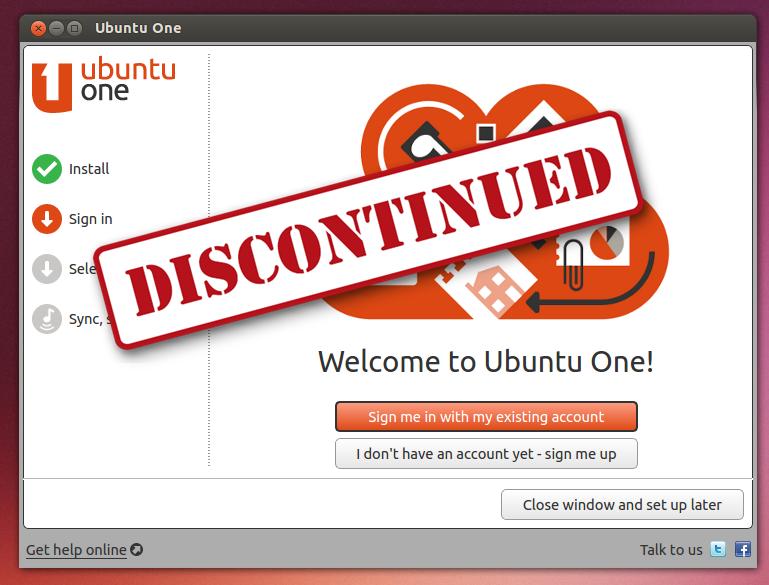 Layanan UbuntuOne Segera Ditutup