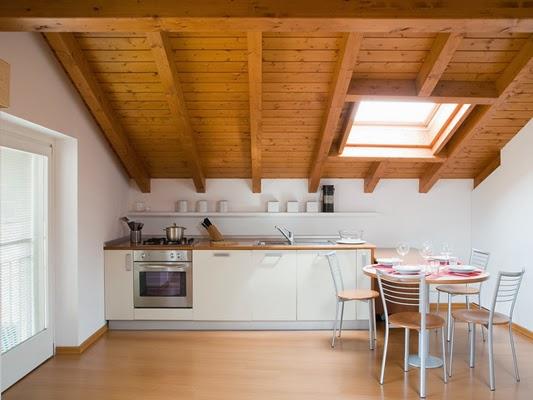 Coperture e tetti in legno: Vivere in mansarda