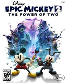 Disney, Epic Mickey 2, Video Game, Nintendo, Wii, game, video Mickey Mouse, Minnie Mouse, Walt Disney