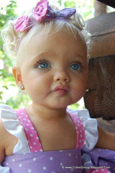 Living doll cute baby girl