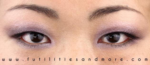 Violet Smokey Glitters Prom Look Makeup Tutorial nars strada
