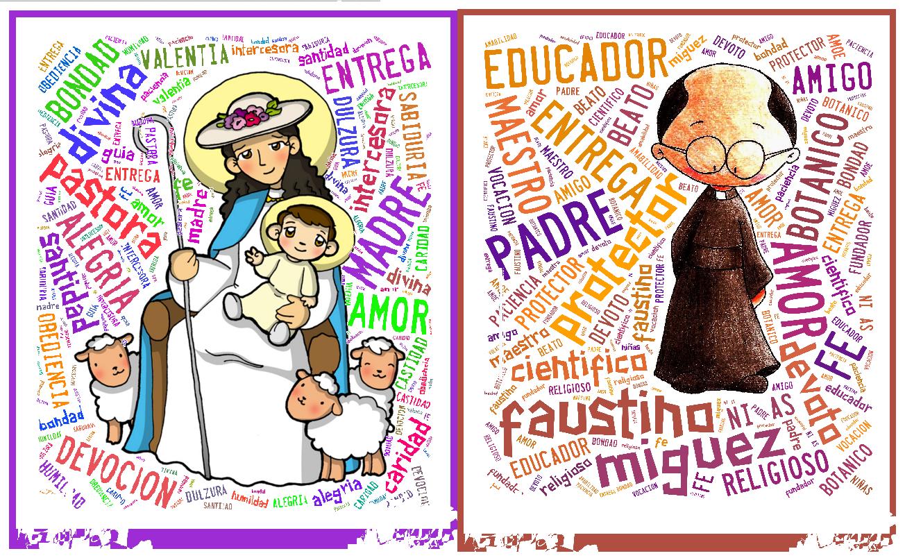 Madre Divina Pastora y Beato Padre Faustino