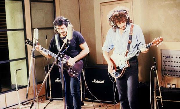 Iommi y May juntos por Armenia