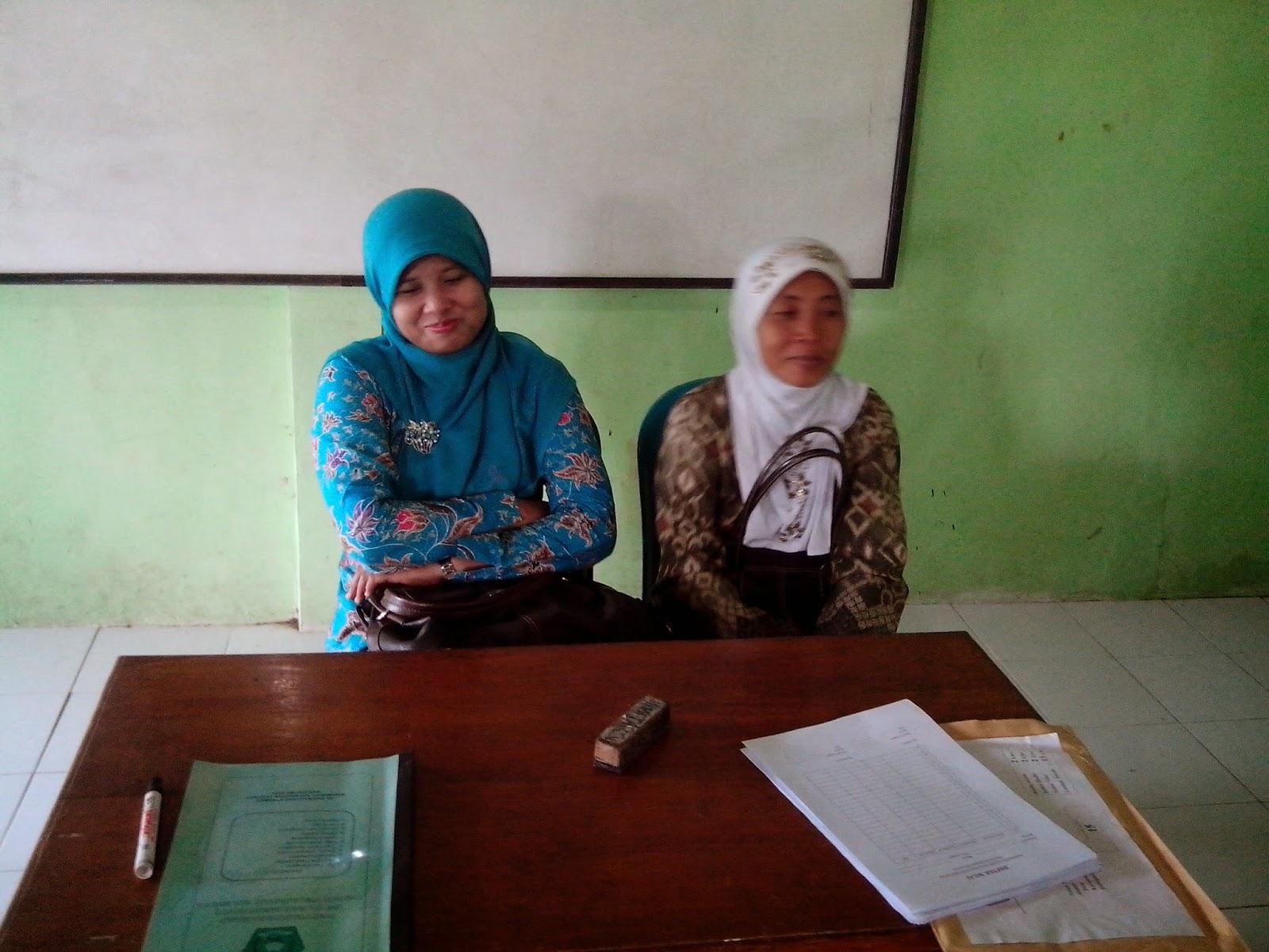 Ujian Madrasah di MI Kalimulyo