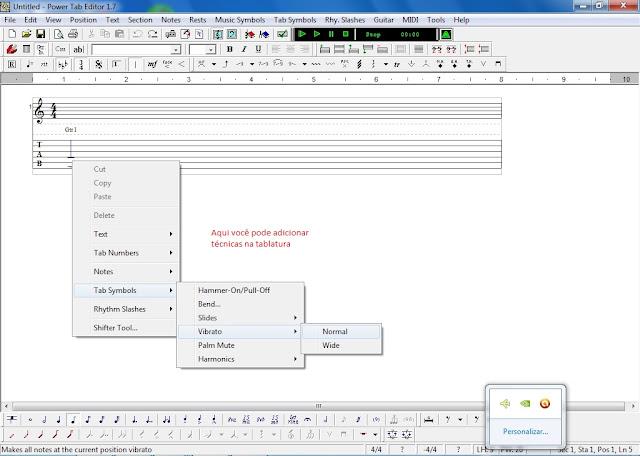 PowerTab Editor