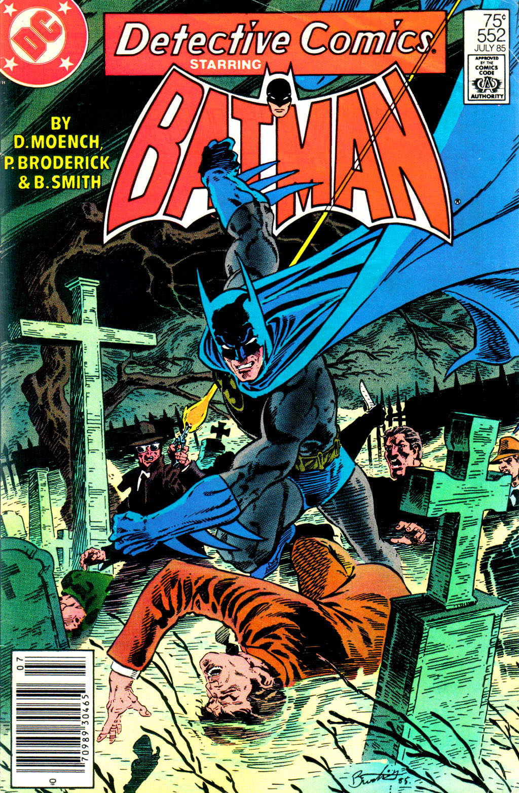 Detective Comics (1937) Issue #552 Page 2