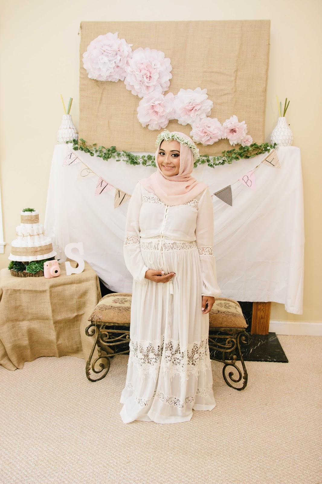 simply covered our boho baby shower 10