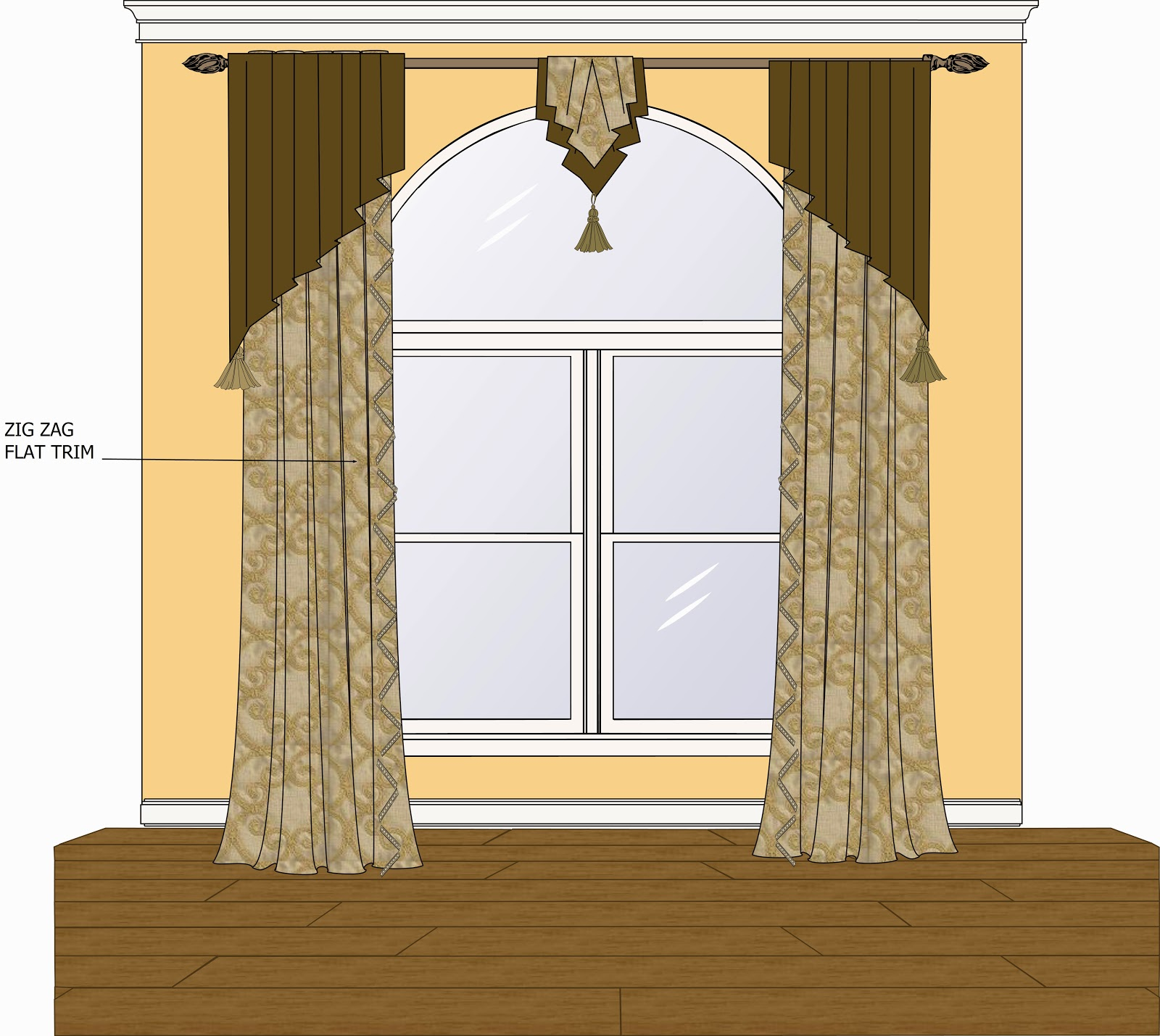 different drapery designs for your home part 2 - Drapery Design Ideas