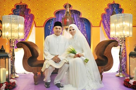 Gambar perkahwinan pengacara TV3 Nurul Syuhada