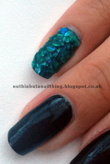 Crushed Shell China Glaze Smoke and Ashes
