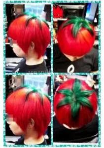 wanita jepang lagi gandrung gaya rambut tomat, budaya jepang