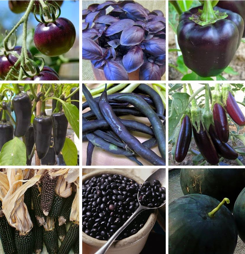 Almost Black Vegetables