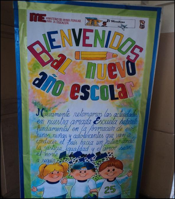 Carteleras educativas de bienvenida - Imagui