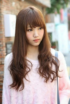 Foto Model Rambut Panjang 2014