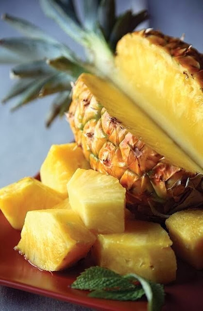 antipasto d'ananas gratinato