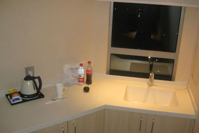 Küche in meinem Hotelzimmer
