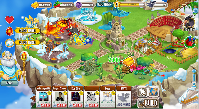 Cheat/Hack Tool Dragon City Gold Food Gem Terbaru 2015