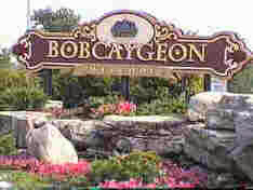 image Bobcaygeon Garden with sign