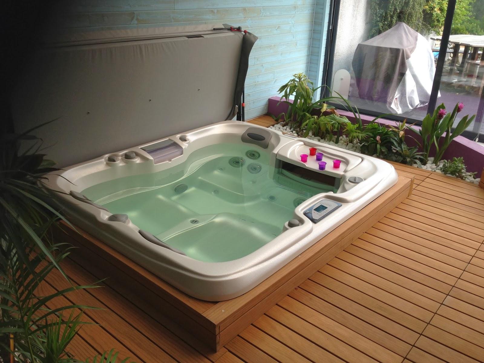Terrasse Bois Avec Jacuzzi Good Concept Miniwater Avec Terrasse En