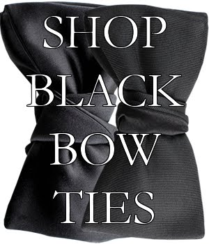 Shop Black Bow Ties