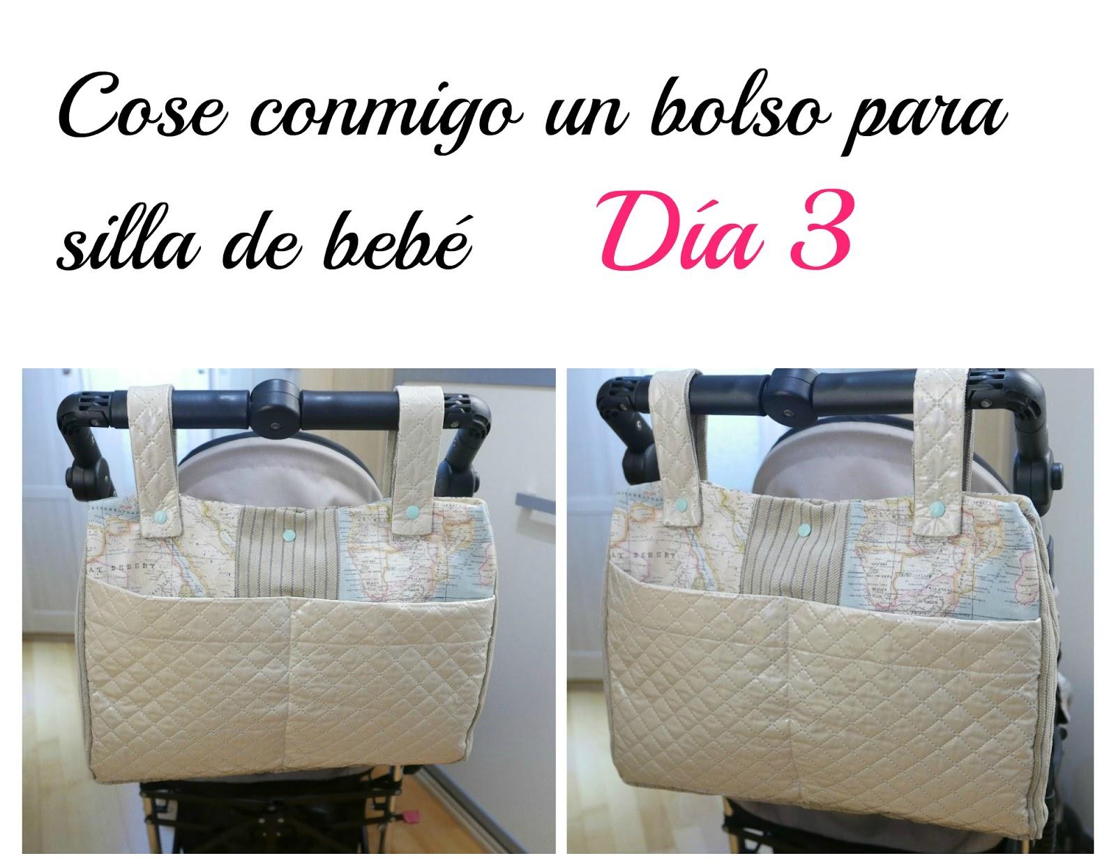 Terminamos el bolso para silla de paseo de bebé ~ Colours for Baby