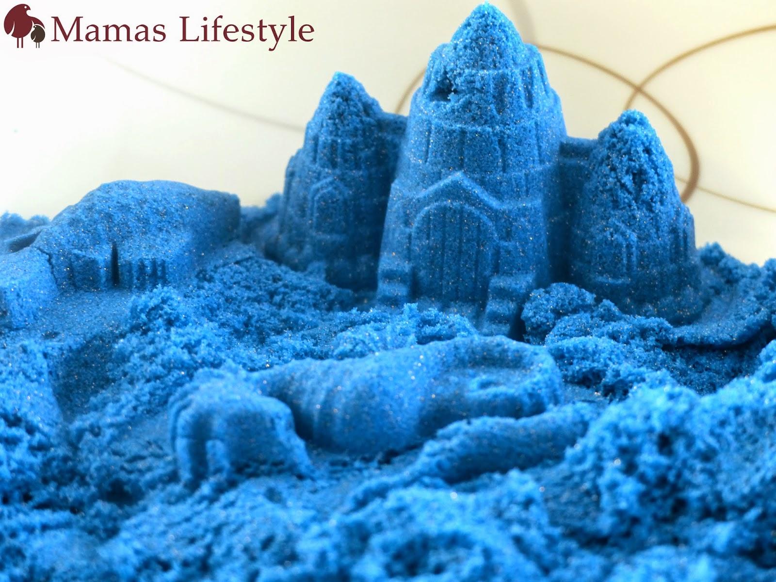 mamas lifestyle mit kinetic sand den sandkasten ins wohnzimmern holen. Black Bedroom Furniture Sets. Home Design Ideas
